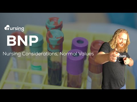 BNP (Brain Natriuretic Peptid) Heart Failure Lab Value