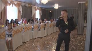 поздравление на свадьбе , читал реп для жениха и невесты! Мс Олежек Белый