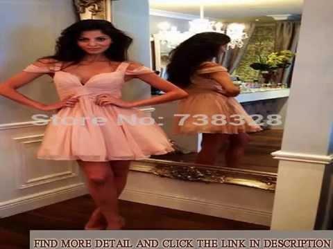 under-100-homecoming-dresses-2015-cheap-peach-vestidos-capped-sleeve-short