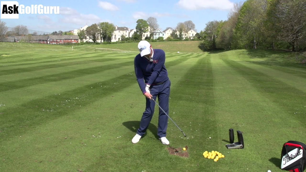 youtube how to hit irons