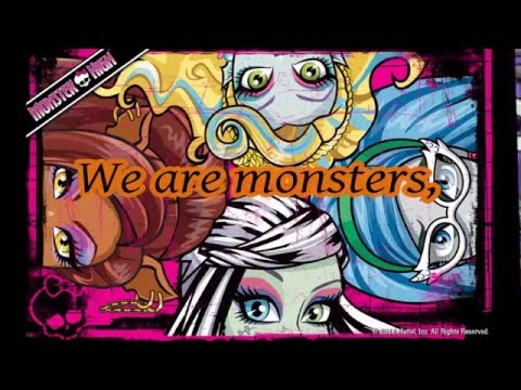 we are monster high mp3 download free