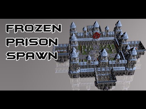 minecraft frozen prison spawn with schematic and. Black Bedroom Furniture Sets. Home Design Ideas