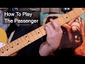 'The Passenger' Iggy Pop Guitar Lesson