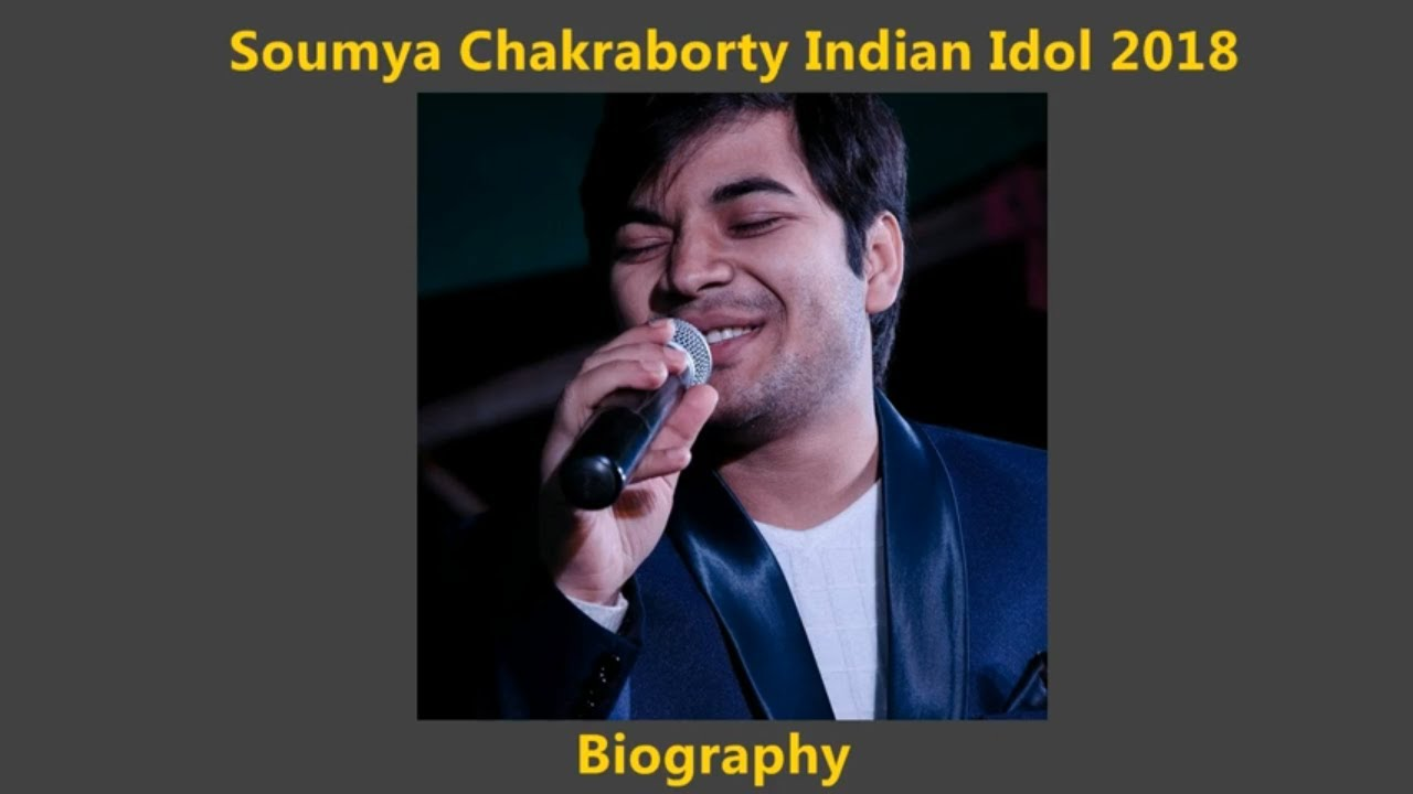 Soumya Chakraborty | Biography | Wiki | Family | Photos | Age | Wife -  Indian Idol