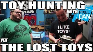 TOY HUNTING with Pixel Dan at The Lost Toys in Dallas!