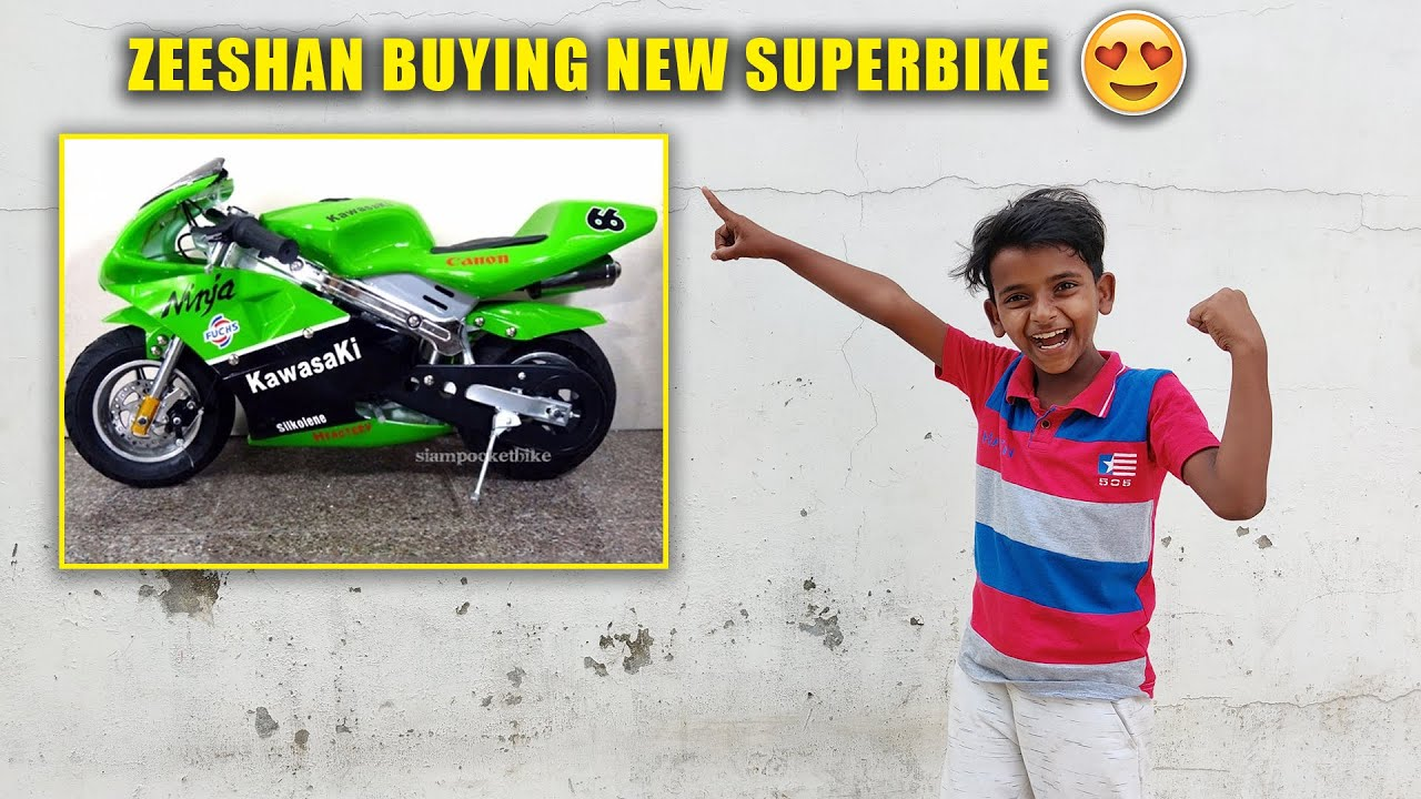 Zeeshan Buying New Superbike 😳