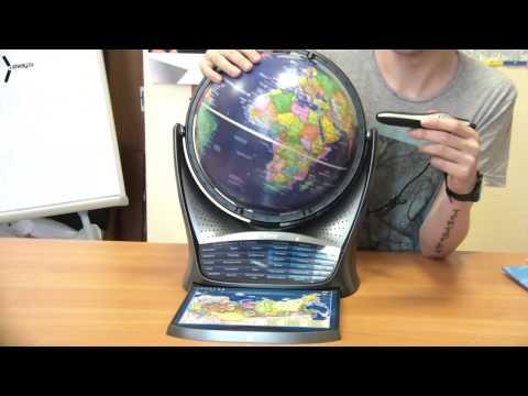 Обзор интерактивного глобуса с голосовой поддержкой Oregon Scientific SG18 (Smart Globe 3)