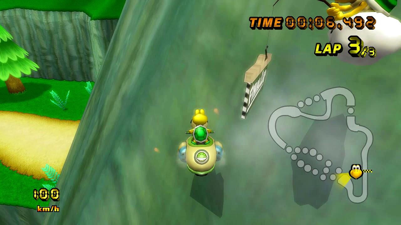Mario Kart Wii World Record Mushroom Gorge 20.534