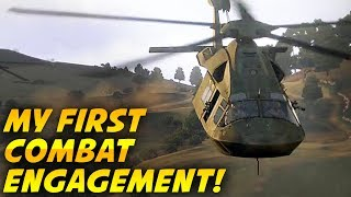 MY FIRST COMBAT ENGAGEMENT ARMA 3 - Zero to Hero Ep 2