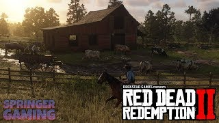 🔴New Camp + Discovering Valentine! Red Dead Redemption 2 Walkthrough #2