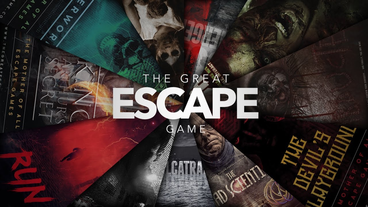 The No 1 Mother Of All Immersive Escape Rooms | The Great Escape Game