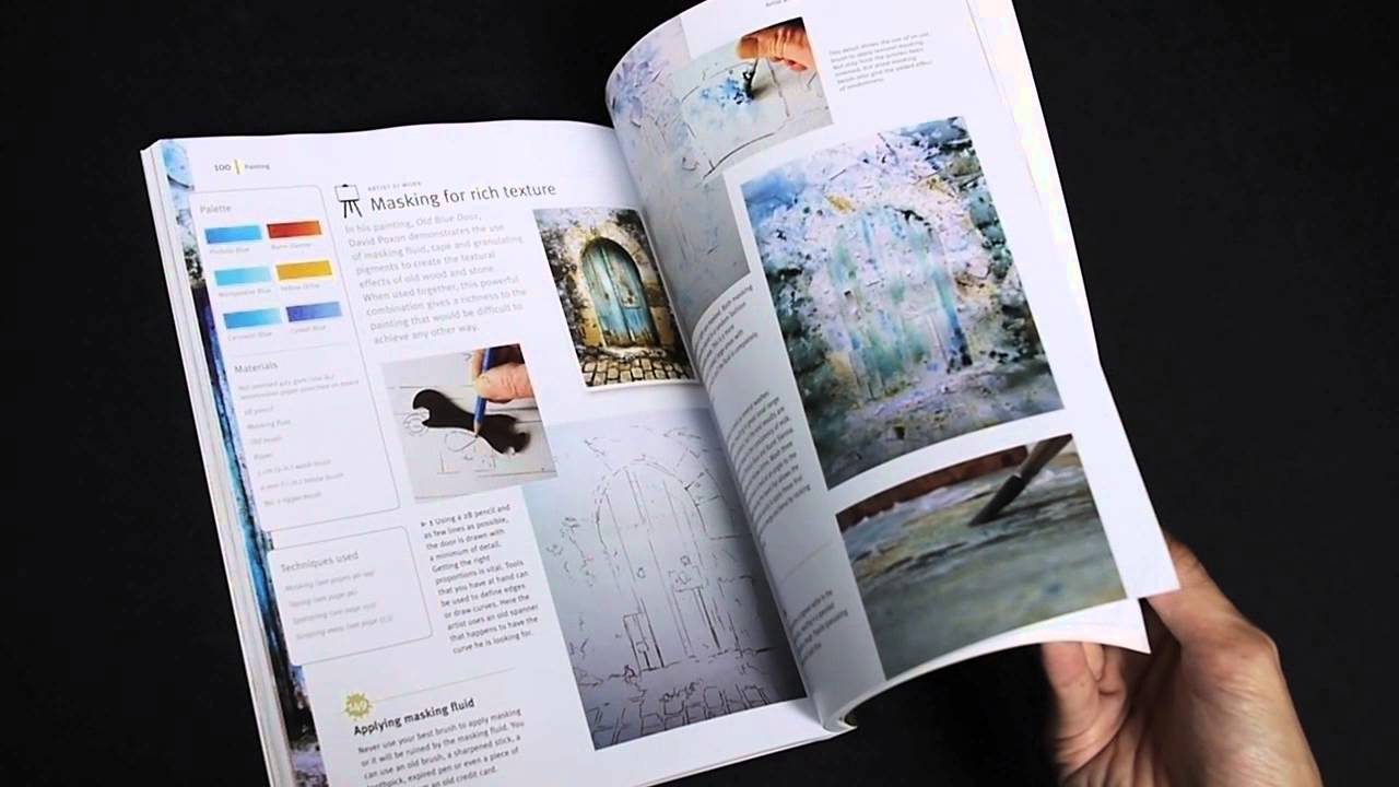 200 Tips and Techniques for Painting the Easy Way Watercolor Secrets