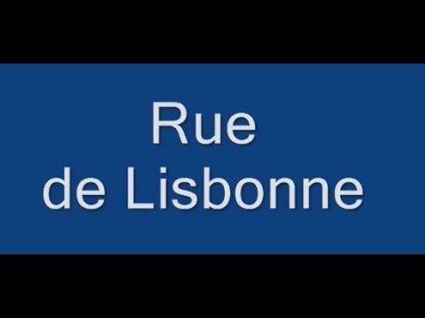 Rue de Lisbonne Paris Arrondissement  8e