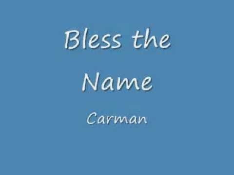 Carman chords chordify carman a witchs invitation0 jam sessions chords carman bless the name with on screen lyrics stopboris Image collections