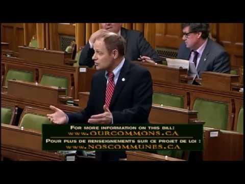 David Anderson, MP speaks on C-71