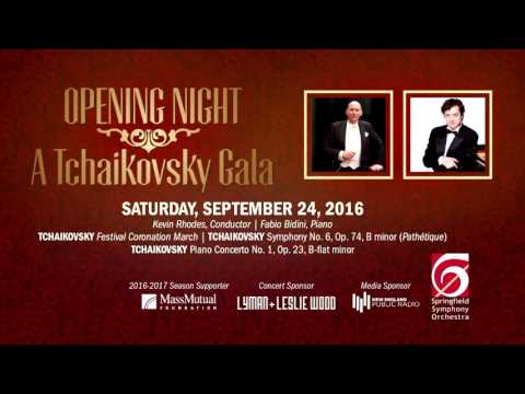 Springfield Symphony Orchestra's Opening Night 2016 | A Tchaikovsky Gala Classical Concert