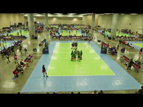 AAU Volleyball Honolulu Grand Prix 2017 (Event Time-lapse)