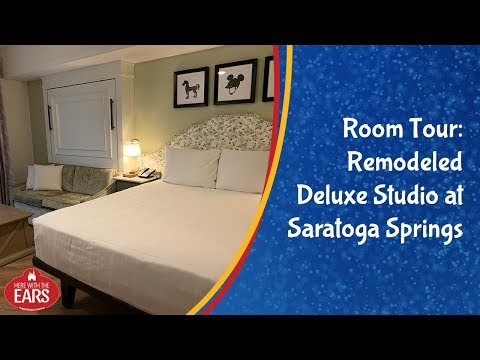 Saratoga Springs - Newly Remodeled Deluxe Studio - Room Tour