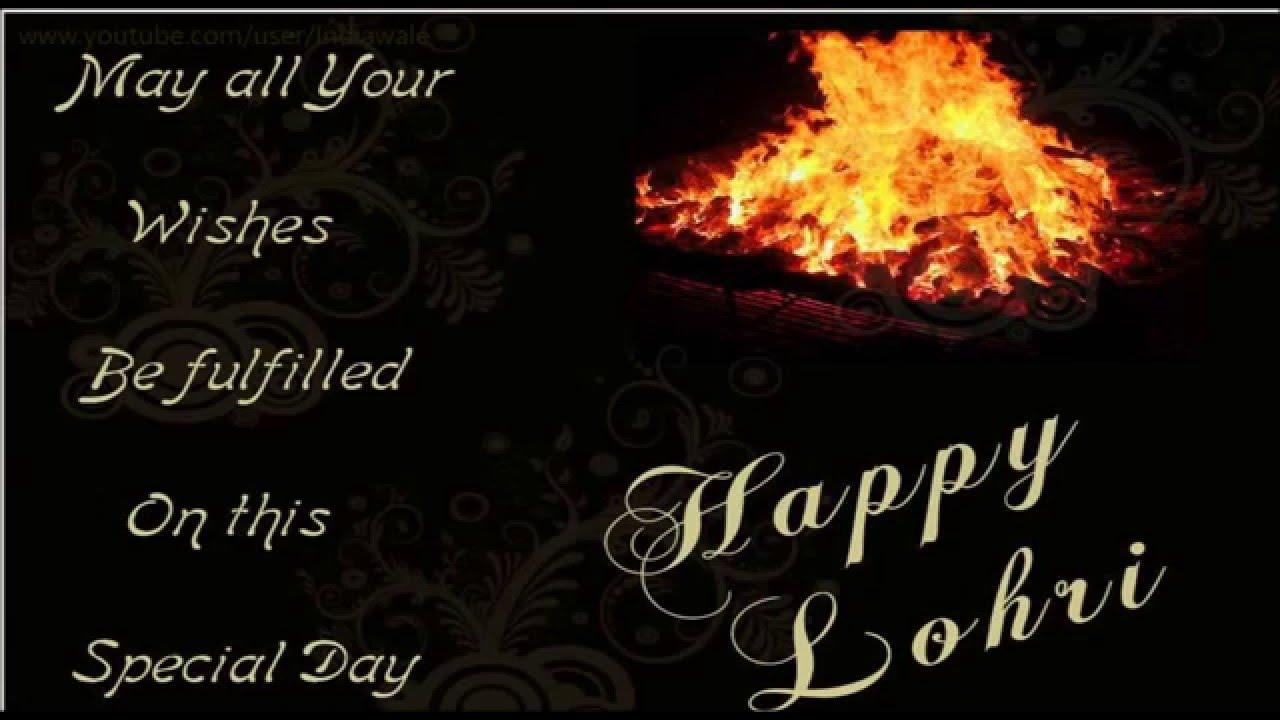Happy Lohri 2017 Wishes Greetings Whatsapp Video Latest Unique