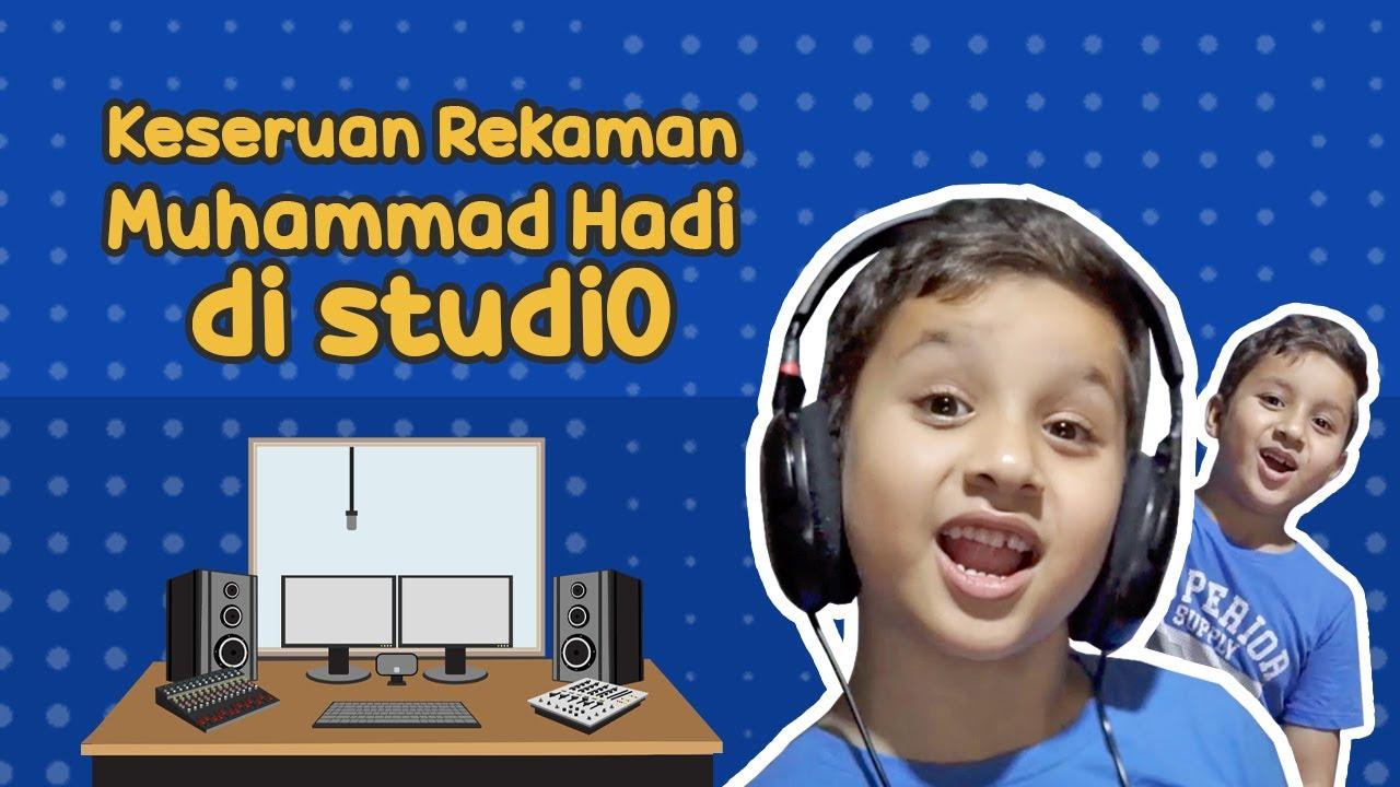 Melihat Keseruan Rekaman Muhammad Hadi di Studio!