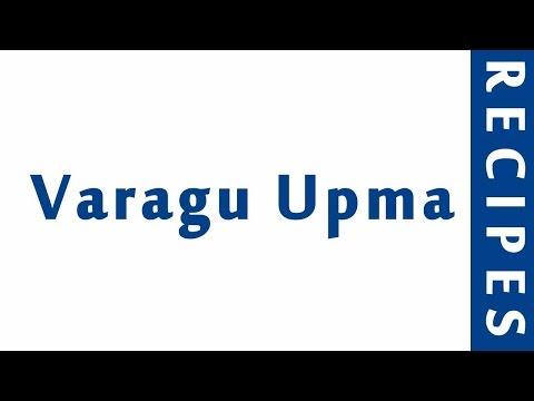Varagu Upma | POPULAR BREAKFAST RECIPES | RECIPES LIBRARY