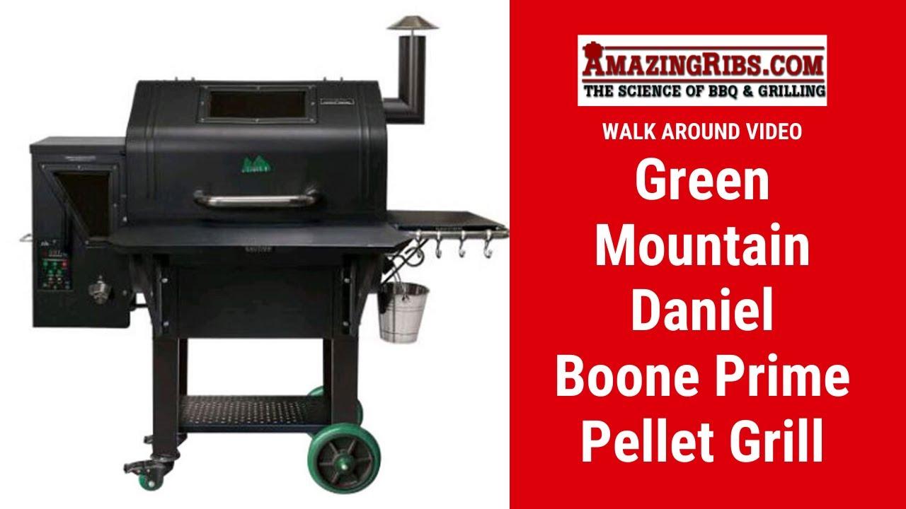 Green Mountain Daniel Boone Prime Pellet Grill Review - Part 1 AmazingRibs.com Walk Around Video