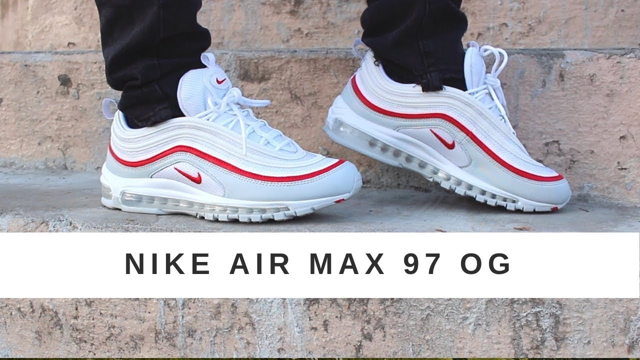 nike air max 97 white platinum