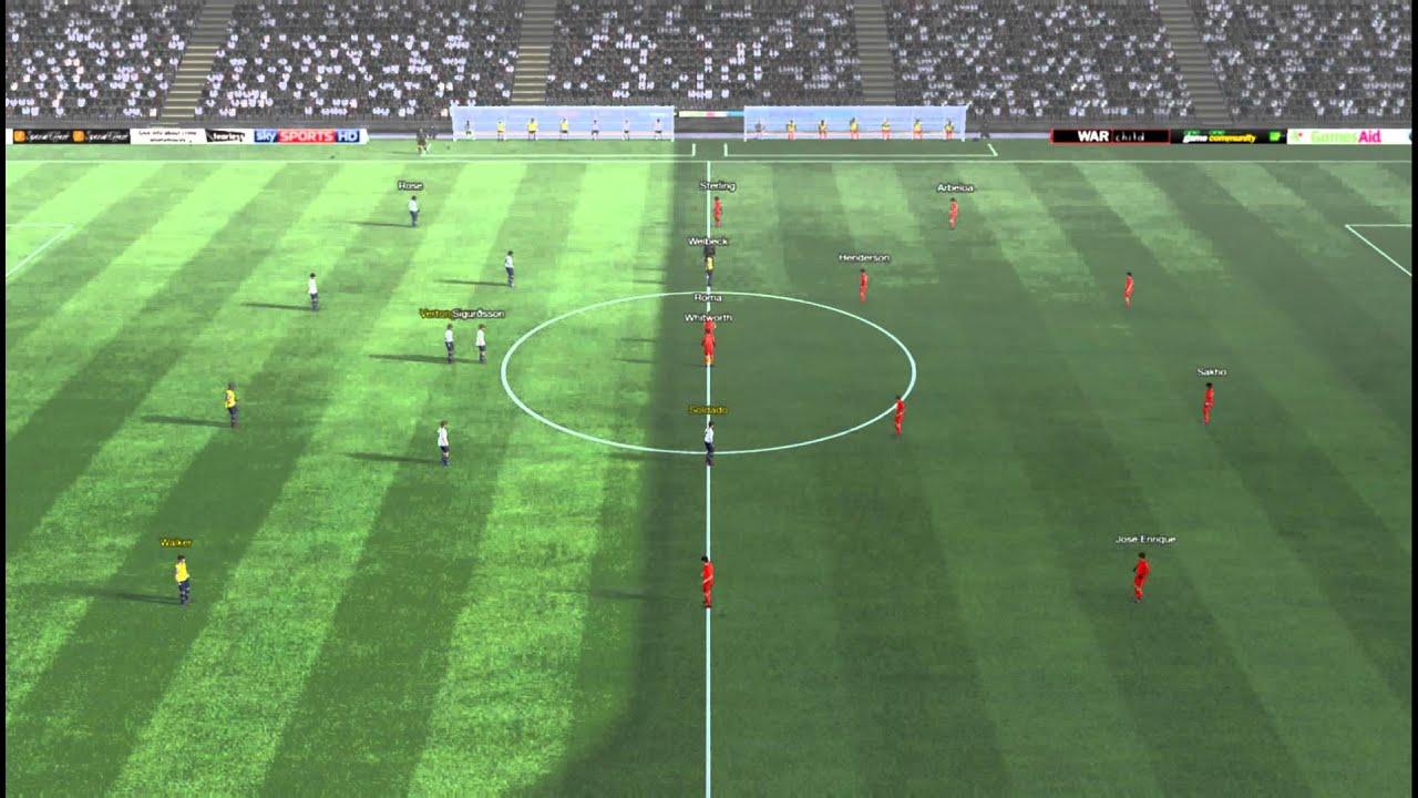 Tottenham vs Liverpool - Sterling Goal 79 minutes - YouTube