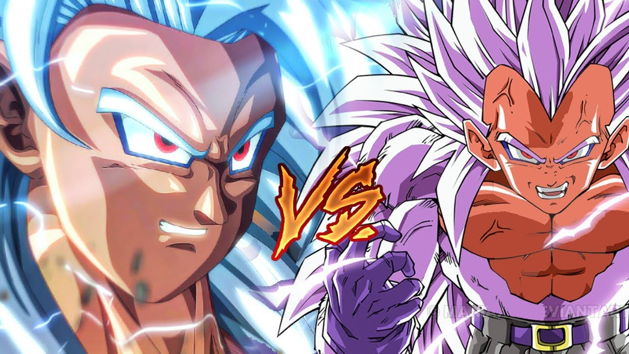 Dragon ball af ss5 goku vs super saiyan 5 vegeta dragon - Goku vs vegeta super saiyan 5 ...