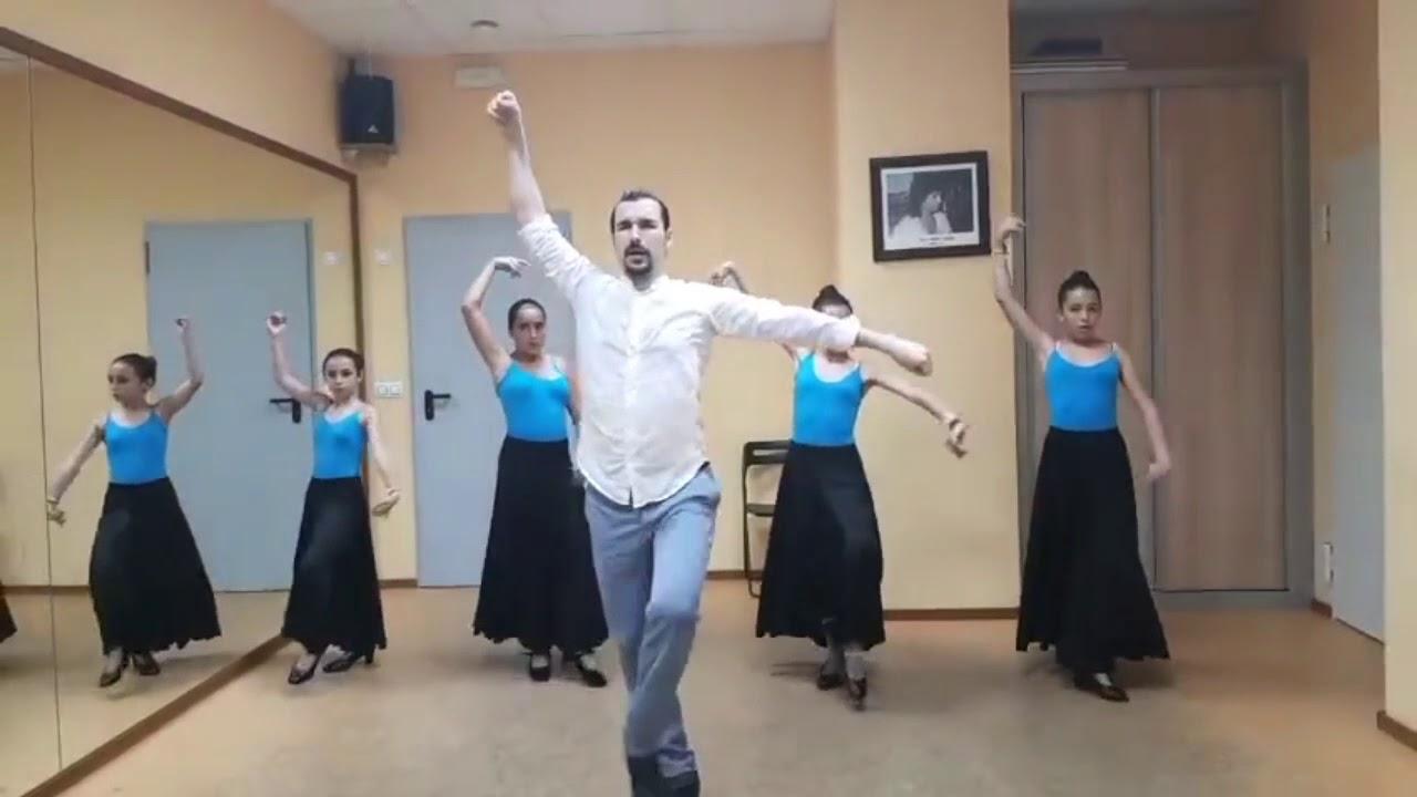 Clases De Sevillanas Impartidas Por Sergio González Youtube
