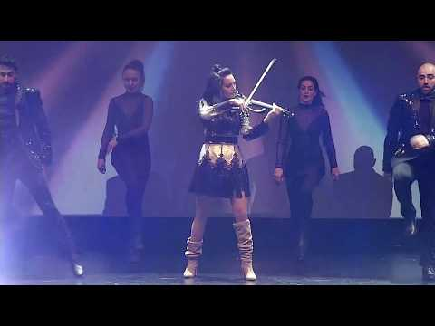 Giselle Tavilson Violin Dance Show
