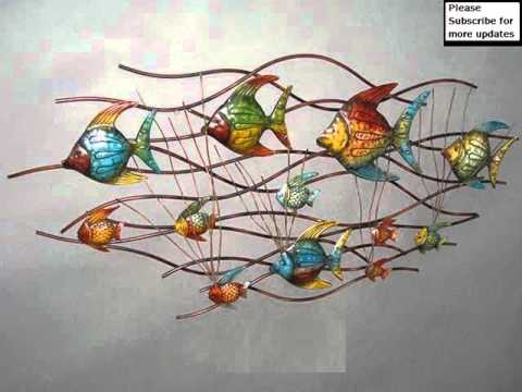 Famous Metal Wall Decor | Metal Metal Wall Art - YouTube OH44