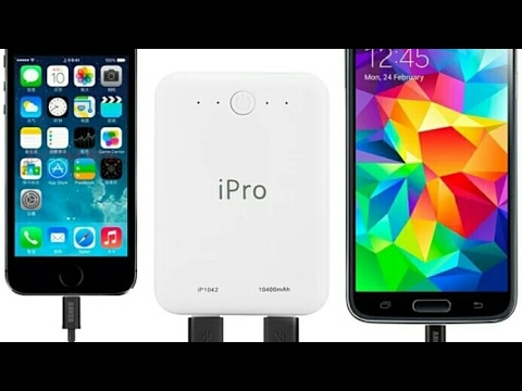 #UNBOXING #iPRO #powerbank #ipro power bank 10400 mAh power bank unboxing and review