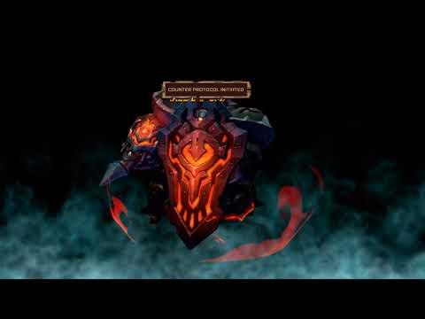 Hard Wargolem Lancer Fight in Battlechasers: Nightwar |