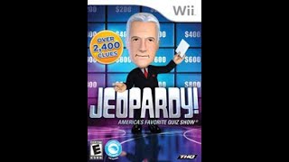 Nintendo Wii Jeopardy! ORIGINAL RUN Game #1