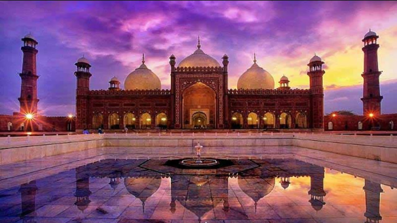 Badshahi Mosque, Asian Historical Architecture Badshahi Mosque, Lahore,  Pakistan . - YouTube