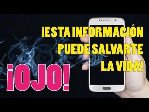 ⚠¡OJO! ¡Esta información puede salvarte la vida!