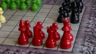 Урок № 9. Чатуранга. Шатрандж. Древняя история шахмат.