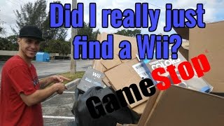 Dumpster Diving Gamestop