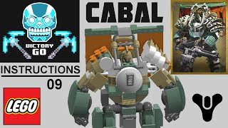 LEGO Destiny Cabal with INSTRUCTIONS /////
