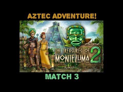 Treasures Of Montezuma 2 (mobile) Match 3 - JUST GAMEPLAY