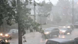 EF1 Tornado In Bayside / Flushing, Queens, New York City, September 16, 2010