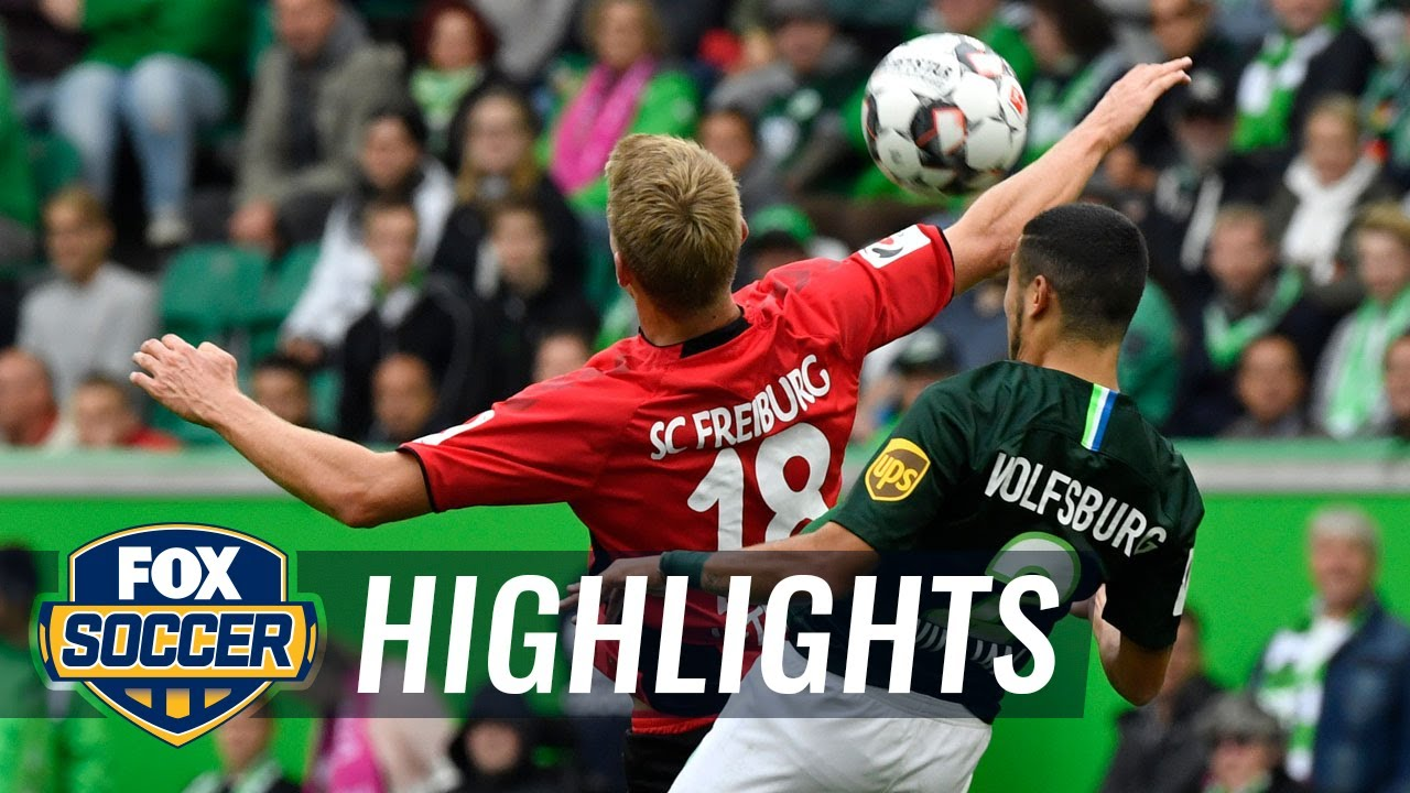 VfL Wolfsburg vs. SC Freiburg | 2018-19 Bundesliga Highlights