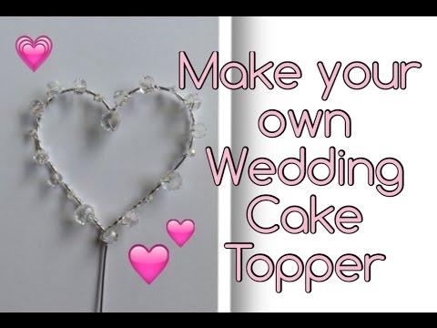 beaded-crystal-heart-wedding-cake-topper-diy-tutorial