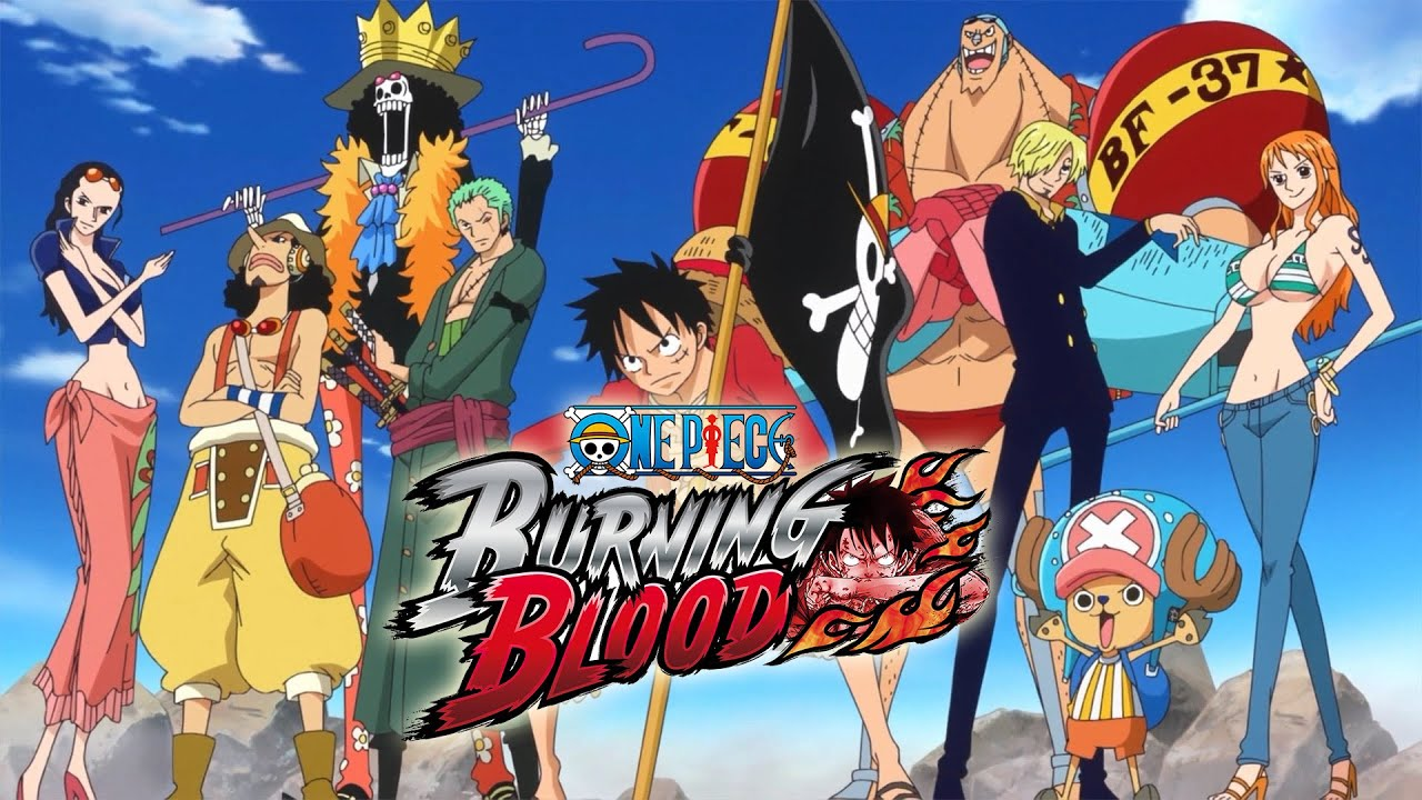 One Piece Burning Blood All Characters Gameplay [Straw Hat ...