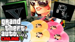 GTA 5 LIMITED EDITION Soundtracks for GTA V - Collectors Item!