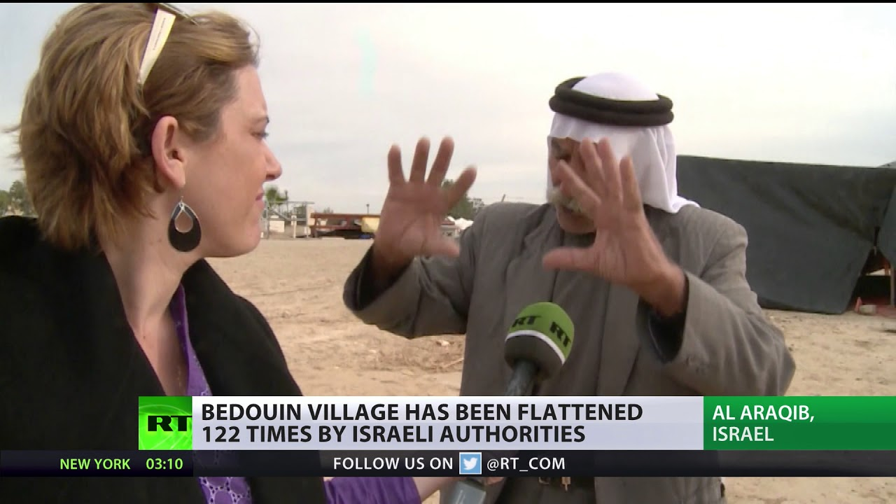 Demolished & rebuilt 100+ times: Bedouins sued for trespassing in... village they are from