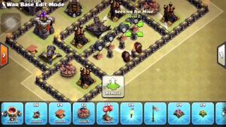 Clash of Clans-- TH9 Anti-Three star+ Anti Lavaloon war base speed build
