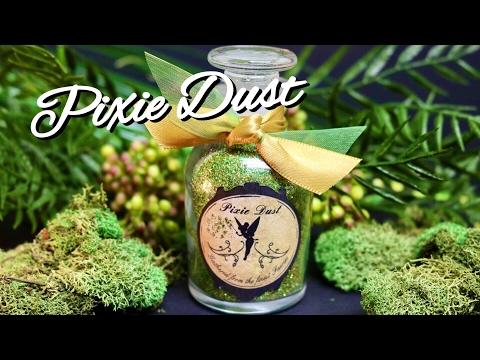 Pixie Dust : DIY Prop Bottle : Fairy Dust : Magic Glitter Potions (Tinker Bell Inspired)