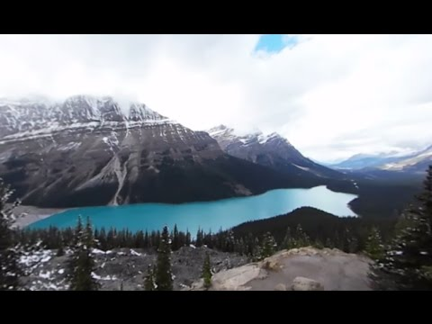 Driving Canada's Icefields Parkway In 360° - Lonely Planet